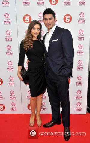 Rav Wilding and guest - Tesco Mum of the Year Awards held at the Savoy - Arrivals - London, United...