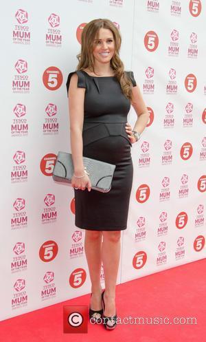 Danielle Lloyd and Danielle O'Hara - Tesco Mum of the Year Awards held at the Savoy - Arrivals - London,...
