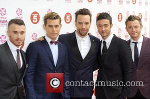 The Overtones - Tesco Mum of the Year Awards held at the Savoy - Arrivals - London, England, United Kingdom...