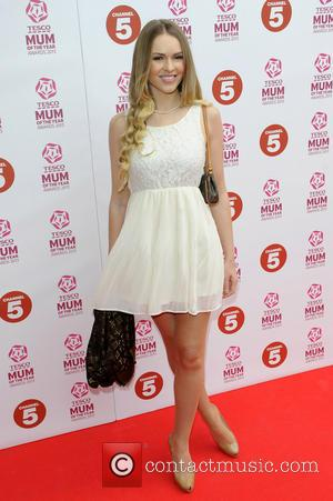 Zoe Salmon - Tesco Mum of the Year Awards held at the Savoy - Arrivals - London, England, United Kingdom...