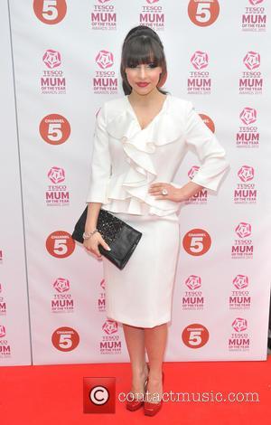 Roxanne Pallett - Tesco Mum of the Year Awards held at the Savoy - Arrivals - London, United Kingdom -...