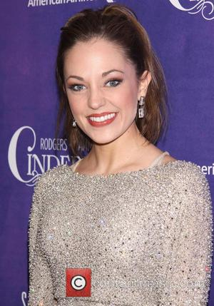 Laura Osnes wearing Randi Rahm - Premiere after party for 'Cinderella' held at Gotham Hall - New York City, USA,...