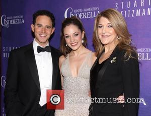 Santino Fontana, Laura Osnes and Victoria Clark