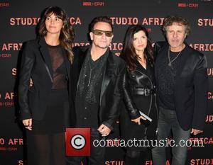 Bono, Arianna Alessi, Ali Hewson and Renzo Rosso