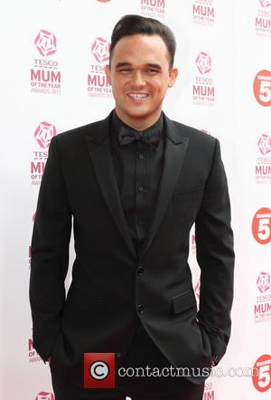 Gareth Gates - Tesco Mum of the Year Awards held at the Savoy - Arrivals - London, United Kingdom -...