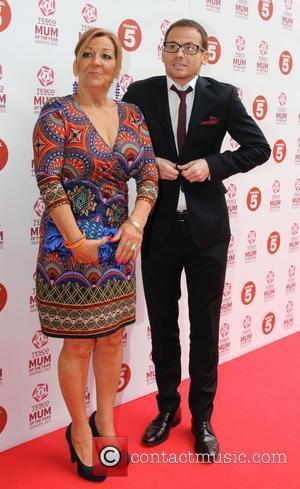 Joe Swash and Kiffy Swash - Joe Swash and his mother Kiffy Swash at Tesco Mum of the Year Awards...