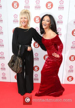 Chelsee Healey with her mother Beverley Healey - Tesco Mum of the Year Awards 2013 held at the Savoy -...