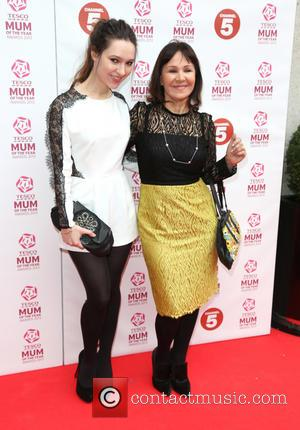 Arlene Phillips and daughter Abigail Phillips - Tesco Mum of the Year Awards 2013 held at the Savoy - Arrivals...