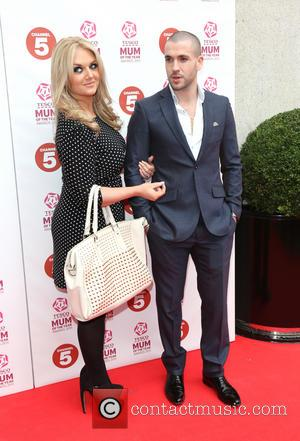 Shayne Ward with his fiancé Faye McKeever - Tesco Mum of the Year Awards 2013 held at the Savoy -...