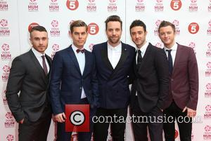 Chapman, Timmy Matley, Mike Crawshaw, Mark Franks and The Overtones