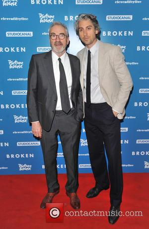 Larry Lamb and George Lamb - 'Broken' UK film premiere held at the Hackney Picturehouse - Arrivals - London, United...