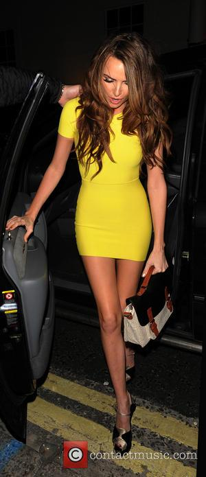 Nadine Coyle - Girls Aloud - 'Ten - The Hits Tour' afterparty at Whisky Mist - London, United Kingdom -...