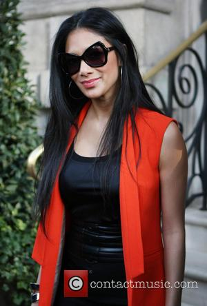 Nicole Scherzinger - Nicole Scherzinger outside the Langham hotel in London - London, United Kingdom