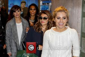 The Saturdays, Mollie King, Vanessa White, Frankie Sandford, Pregnant Rochelle Humes and Rochelle Wiseman