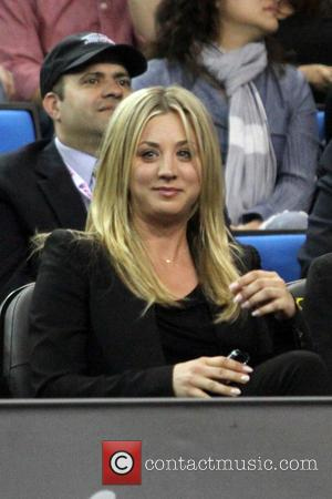 Kaley Cuoco - Celebrities at the LA Tennis Challenge at Pauley Pavilion - Los Angeles, California, United States - Monday...