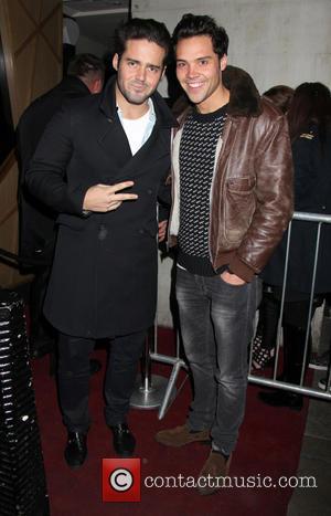 Spencer Matthews and Andy Jordan