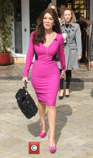 Lisa Vanderpump - Celebrities at The Grove to appear on entertainment news show 'Extra' - Los Angeles, California, United States...