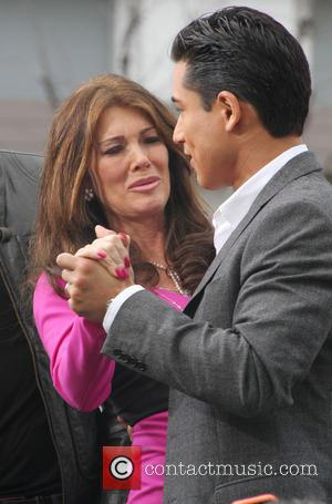 Lisa Vanderpump and Mario Lopez