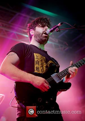 Yannis Philippakis - Rock band, Foals performing at Liverpool O2 Academy - Liverpool, United Kingdom - Monday 4th March 2013