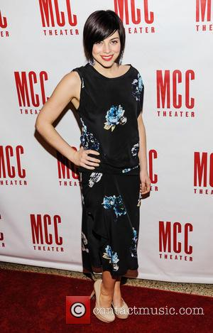 Krysta Rodriguez - Miscast 2013 at Hammerstein Ballroom - Arrivals - New York City, NY, United States - Monday 4th...