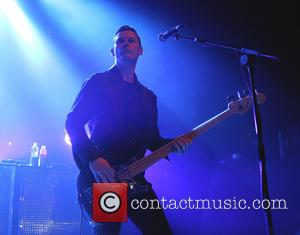 Richard Jones - Bassist Richard Jones of Stereophonics performing live on stage at Electric Brixton - London, United Kingdom -...