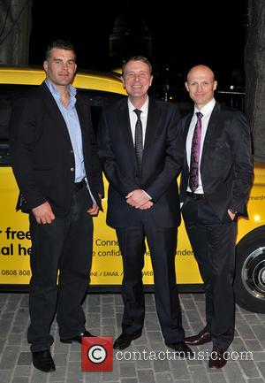 Matt Dawson, Phil Tufnell and Nick Easter