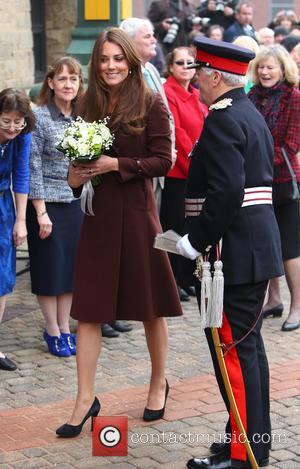 Kate Middleton, Catherine and Duchess of Cambridge - Catherine, Duchess of Cambridge arrives at Grimsby Fishing Heritage Centre - Lincolnshire,...