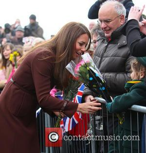Kate Middleton, Catherine and Duchess of Cambridge - Catherine, Duchess of Cambridge leaving Grimsby Fishing Heritage Centre - Lincolnshire, United...