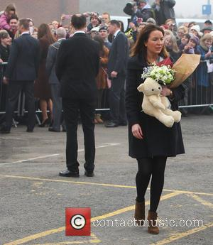 Kate Middleton's assistant - Catherine, Duchess of Cambridge leaving Grimsby Fishing Heritage Centre - Lincolnshire, United Kingdom - Tuesday 5th...