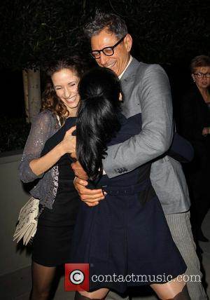 Sarah Silverman, Emilie Livingston and Jeff Goldblum