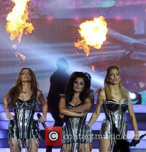 Nadine Coyle, Cheryl Cole and Sarah Harding