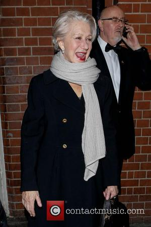 Helen Mirren - Dame Helen Mirren leaving the Gielgud Theatre