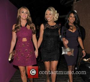 Frankie Essex, Billi Mucklow and Danni Park-Dempsey - new! Magazine - 10th birthday party held at Gilgamesh - Departures -...