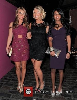 Billi Mucklow, Frankie Essex and Danielle Dempsey - new! Magazine - 10th birthday party held at Gilgamesh - Arrivals -...