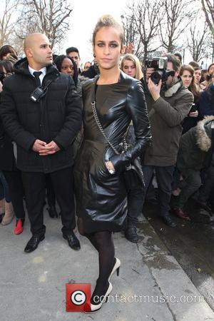 Alice Dellal - Paris Fashion Week - Autumn/Winter 2013 - Chanel - Arrivals - Paris, France - Tuesday 5th March...
