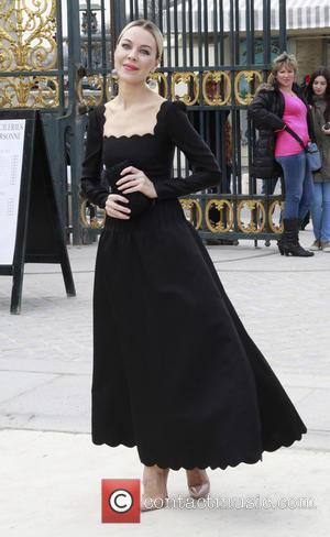 Ulyana Sergeenko - Paris Fashion Week - Autumn/Winter 2013 - Valentino - Outside - Paris, Paris, France - Tuesday 5th...