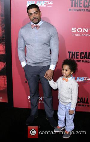 David Otunga and David Otunga Jr. - Los Angeles Premiere of 'The Call' held at ArcLight Hollywood Theatre - Los...