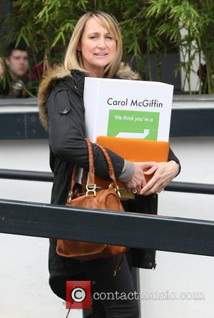 Carol McGiffin - Celebrities at the ITV studios - London, United Kingdom - Wednesday 6th March 2013