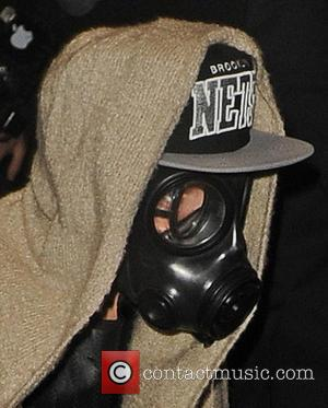 Justin Bieber and Gas Mask