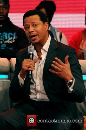 Terrence Howard - Celebrities appear on BET's 106 & Park - New York City, New York , United Kingdom -...
