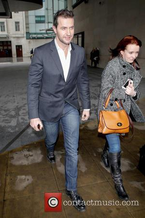 Richard Armitage - Celebrities leaving BBC Radio 1 - London, United Kingdom - Thursday 7th March 2013
