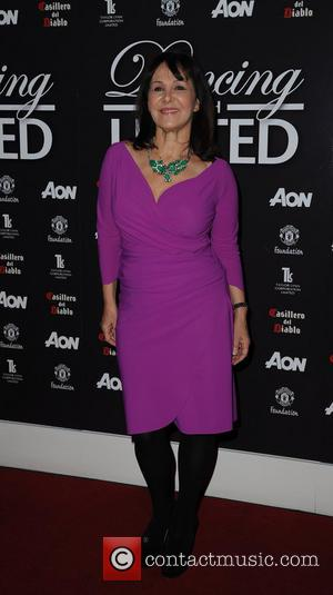 Arlene Phillips - 'Dancing with United' at The Point Old Trafford Cricket Ground - Arrivals - Manchester, United Kingdom -...