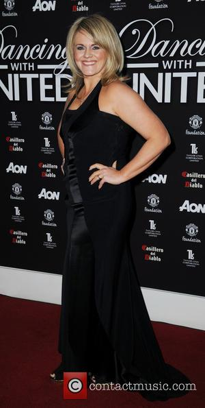Sally Lindsay - 'Dancing with United' at The Point Old Trafford Cricket Ground - Arrivals - Manchester, United Kingdom -...