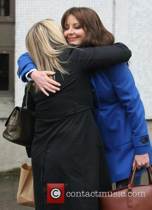 Sally Lindsay - Celebrities at the ITV studios - London, United Kingdom - Thursday 7th March 2013