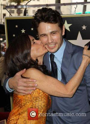 Betsy Franco and James Franco - James Franco is honoured with a Hollywood Star on the Hollywood Walk of Fame...