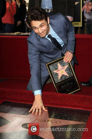 James Franco Lands Star On Hollywood Walk Of Fame