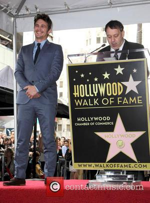 James Franco and Sam Raimi - James Franco is honoured with a Hollywood Star on the Hollywood Walk of Fame...