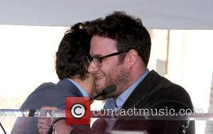 James Franco and Seth Rogen - James Franco is honoured with a Hollywood Star on the Hollywood Walk of Fame...