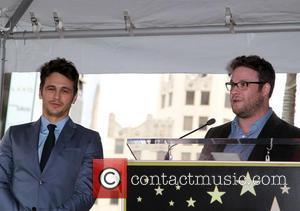 James Franco and Seth Rogen