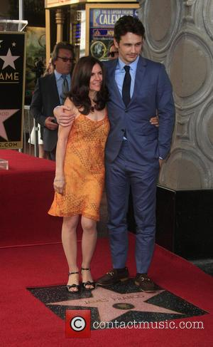 James Franco and Betsy Franco - James Franco is honoured with a Hollywood Star on the Hollywood Walk of Fame...